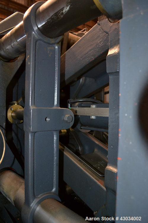 "Used- Sandretto Series Otto Advantage 175 Ton Toggle Horizontal Injection Mold Machine, Model 430/175. Approximate 3-3/4"" di..."