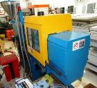 Used- Boy Machines 25 M Horizontal Injection Molder, 25 Tons, Model 25 M. Maximum injection volume 2.43 oz, maximum opening ...