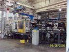 USED: Cincinnati 1000 ton injection mold machine, model VL1000 Square. Shot size 181 oz. Platen size 62.99