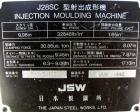 Used- JSW Toggle Injection Molding Machine, Model J28SC, 30.86 Ton. Platen size approximately 14-7/8