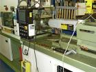 Used-Nissin Injection Molding Machine, Model NC 100 FX26.  98 Ton clamp force, min mold 7.08