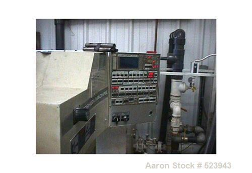 USED: Toshiba 60 ton, model ISF-60-P 1.5 B, injection molding machine, 3 oz. Manufactured 1996. Distance between tie bars 12...