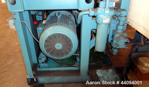 Used- Van Dorn 35 Ergo Tech System Hydraulic Horizontal Injection Molder, 35 Tons, Model 350-80