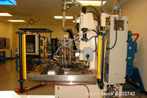 USED: Illinois Precision Corporation (IPC) insert molding machine, model TTM-BCCL. 10 ton, 1 oz barrel; variable shot size; ...