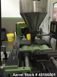 Used- Arburg Allrounder 270-210-500 Injection Molding Machine. 5.58 shot size, 40mm screw diameter, 55 clamp tonnage. Hydrau...