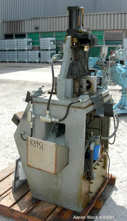 Used: Simplomatic vertical lab size injection molder, model Hydro