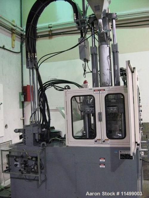 Unused-66 Ton Nissei Vertical Model TH60-9VSE Injection Molding Machine. Year: 1998