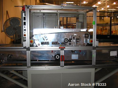 USED: Arcotronics laminator with conveyor belts. Material: stainlesssteel with a teflon coating on the side in contact with ...