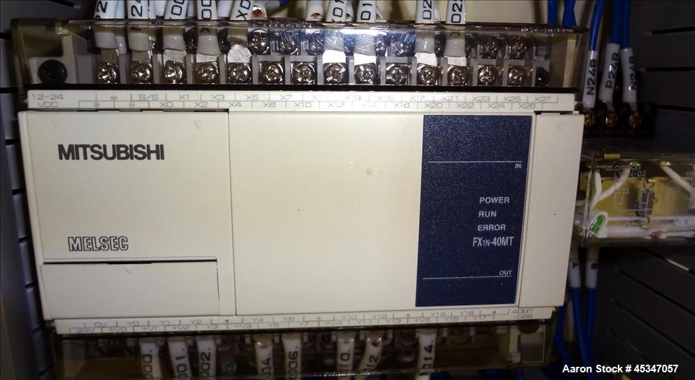 Used-Yasui Seiki Vertical 2 Roll Calendar,
