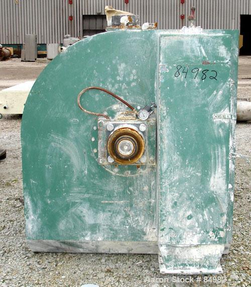 Used- Stainless Steel Henschel Cooler, 4000 Liter