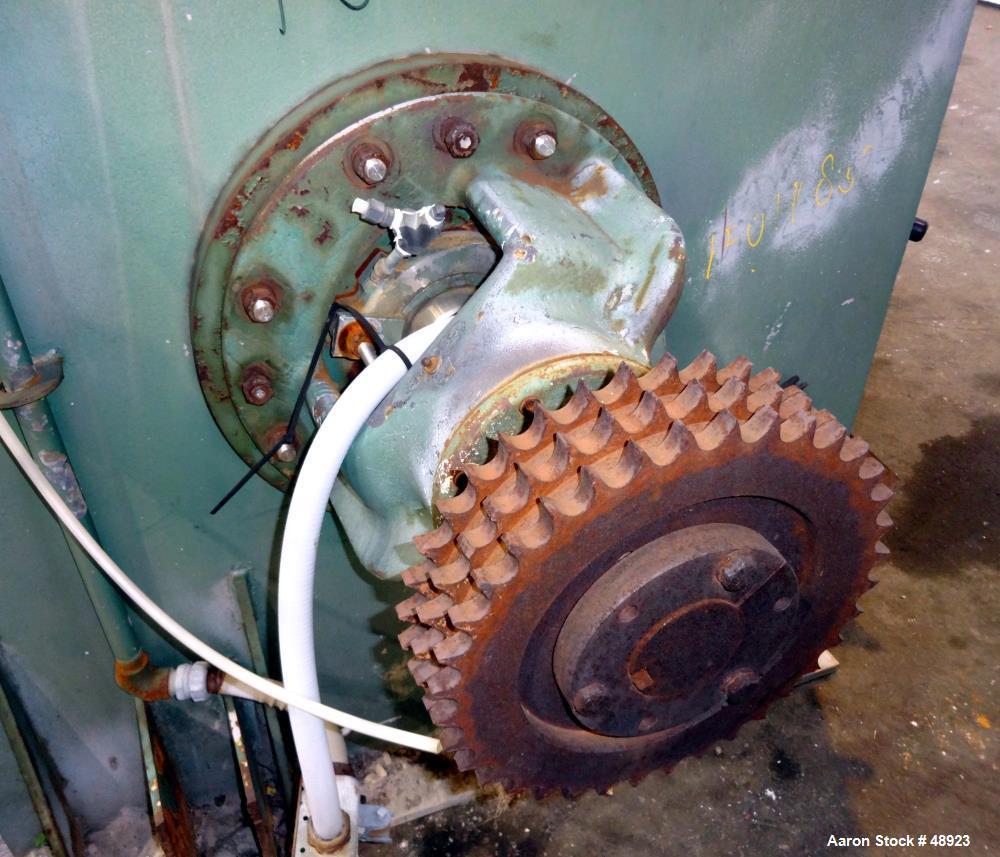 Used- Littleford Batch Type Mixer, Type W1200/K2400
