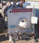 Used- Stainless Steel Littleford Horizontal Cooler, Model K-2400 cooler