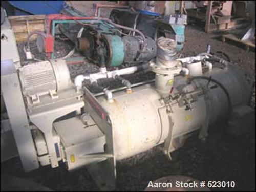 USED: Littleford model W200/K300 mixer-cooler combination. With Littleford model W200 high speed mixer, stainless steel cons...