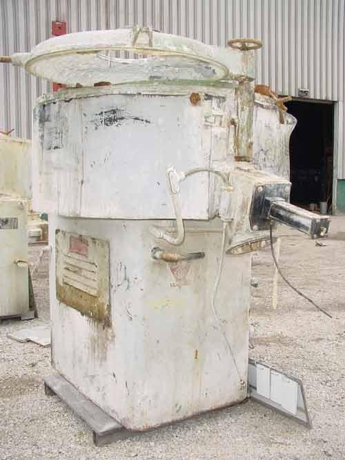USED: Prodex 500 liter (11.5 cu ft) mixer/cooler combo, stainless steel. Consisting of: (1) type 115JSS high intensity mixer...