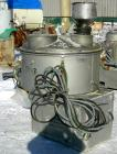 Used- Henschel model FM250 high intensity mixer, 321 stainless steel product contact areas. Carbon steel jacketed bowl 29-1/...