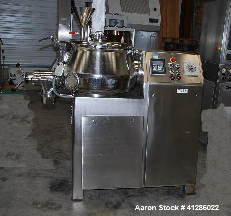 Used-Stainless Steel Diosna Mixer/Granulator, Model P100