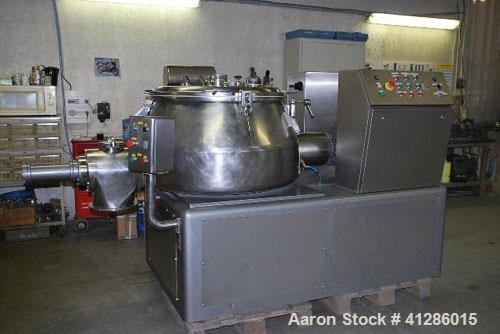 Used-Diosna P400 A Vertical Granulator Mixer for humidified and dried product. Capacity 180 - 220 kilos. Unit comprised of (...