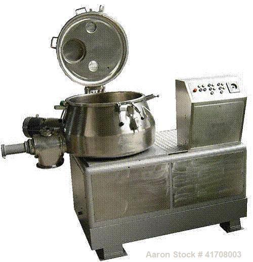 Used-Diosna High Intensity Mixer, Type P400A. Material of construction is stainless steel on product contact parts. Food/pha...