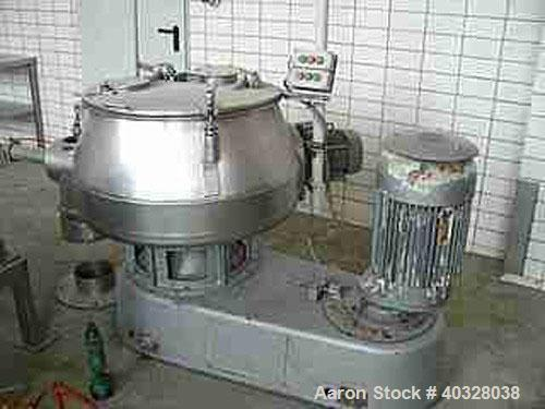 Used-USED: Diosna high intensive mixer, type V200. Material of construction is polished stainless steel on product contact p...