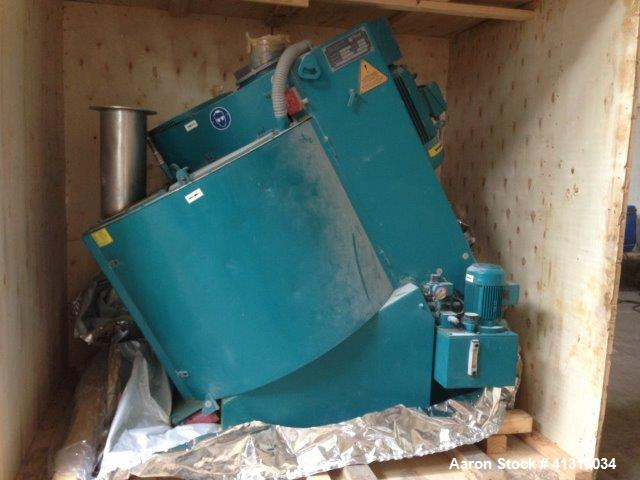 Used- Eirich High Intensity Mixer, Model R 11