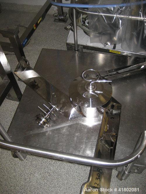 Used- GEA Niro High Shear Mixer, Model PMA1200, Stainless Steel Construction. 45 kw 500 volt DC main motor, 20/15 hp 480 vol...