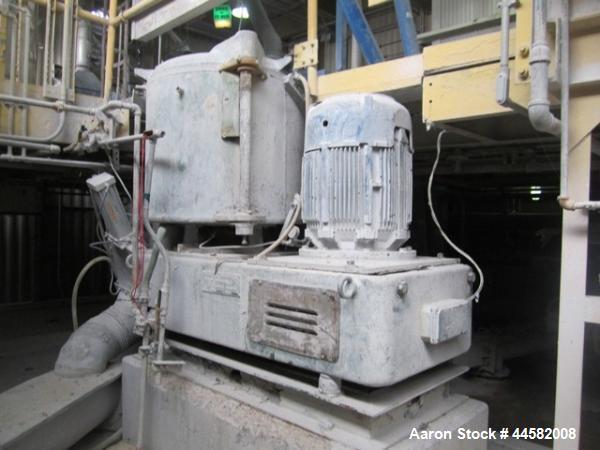 Used- Prodex Henschel 500 Liter High Intensity Mixer, Model 115JSS