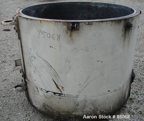 Used- Henschel High Intensity Mixer Bowl Only, Model 250