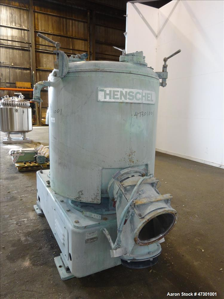 Used- Henschel FM Series High Intensity Mixer, Model FM-600C