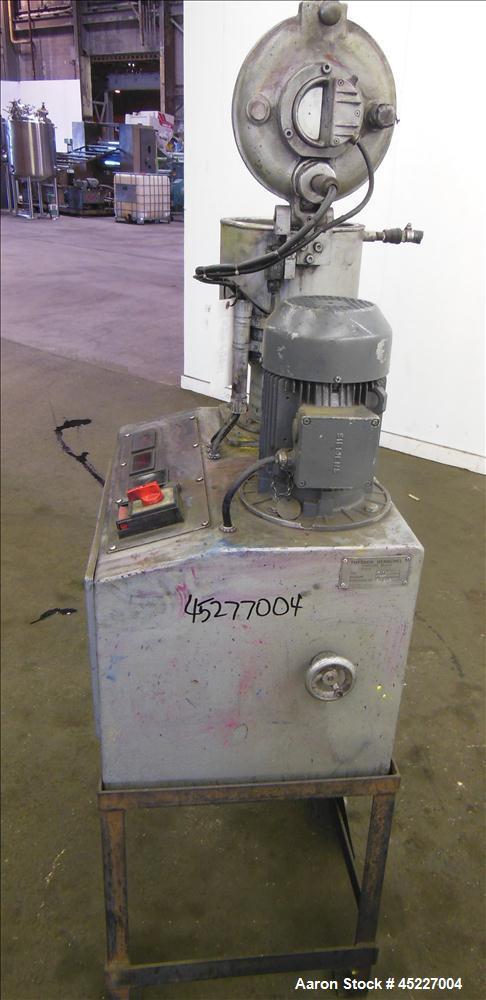 Used- Stainless Steel Henschel FM10C Mixer