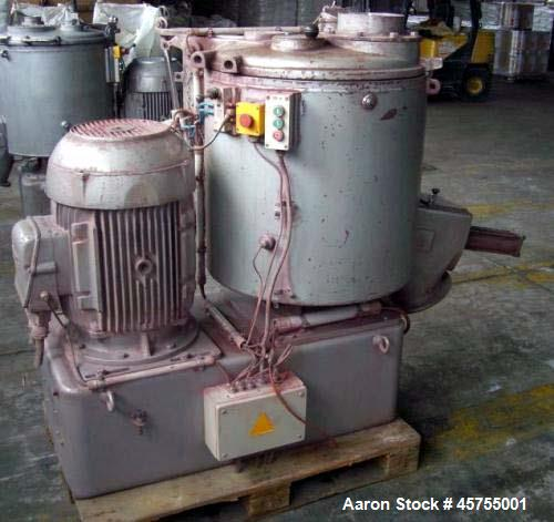 Used- Henschel FM200 High Intensity Mixer.
