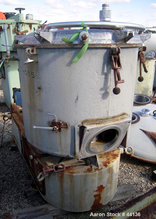 Used- Henschel High Intensity Mixer, Model FM500