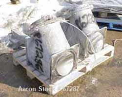 """Used- Henschel High Intensity Mixer, Type FM500D, 11.5 cubic feet (500liter). Stainless steel jacketed bowl, 36"""" diameter x ..."""