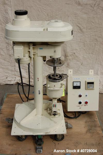 Used- Stainless Steel Henschel Hi-Speed Mixer