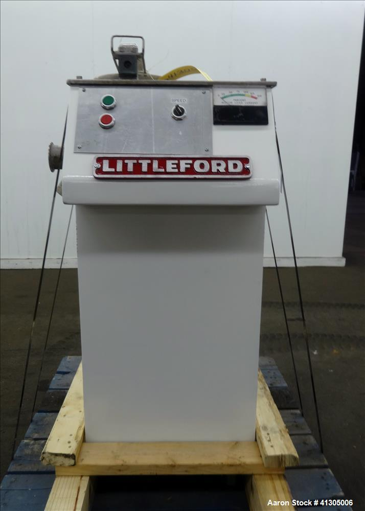Used- Littleford High Intensity Lab Mixer, model W-10.93% nickel construction