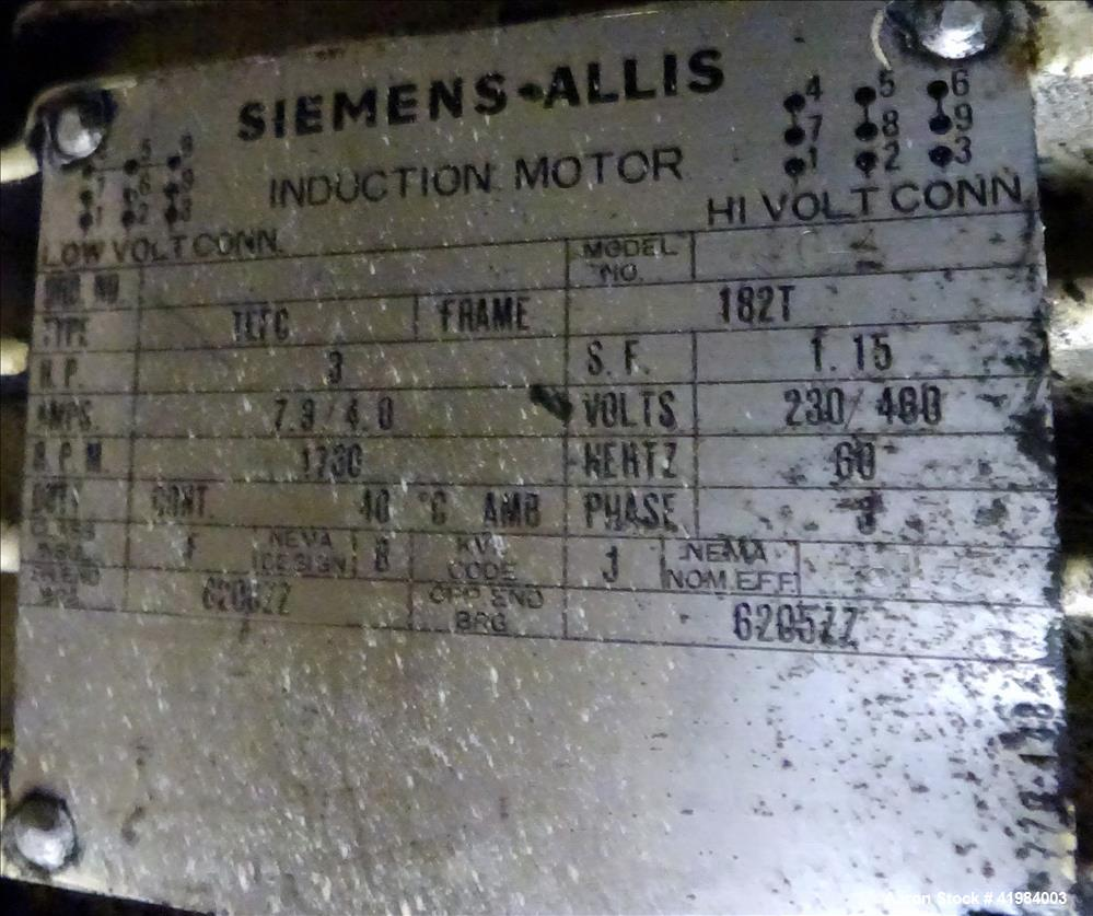 Used- Stainless Steel Littleford High Intensity Lab Mixer, model W-10