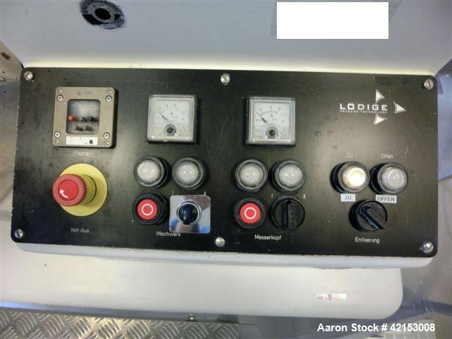 Used-Lodige Mixing Granulator