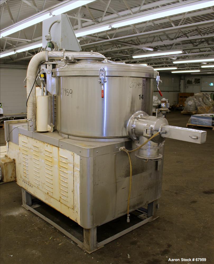Used- Stainless Steel Lodige High Speed Mixer Granulator