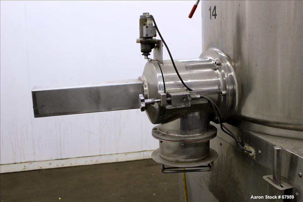 Used- Stainless Steel Lodige High Speed Mixer Granulator