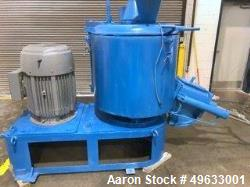 Used- Henschel High Intensity Mixer, Model FM500. Total vessel volume of 500 liters (17.5 cubic feet) and a working capacity...