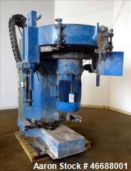 Used- Mixaco Maschinenbau High Intensity Container Mixer, Type CM 1000, 304 Stai