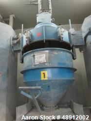 Used- Mixaco Container High Intensive Container Mixer, type CM 2000-D. Stainless steel on product contact parts. 70 cubic fe...