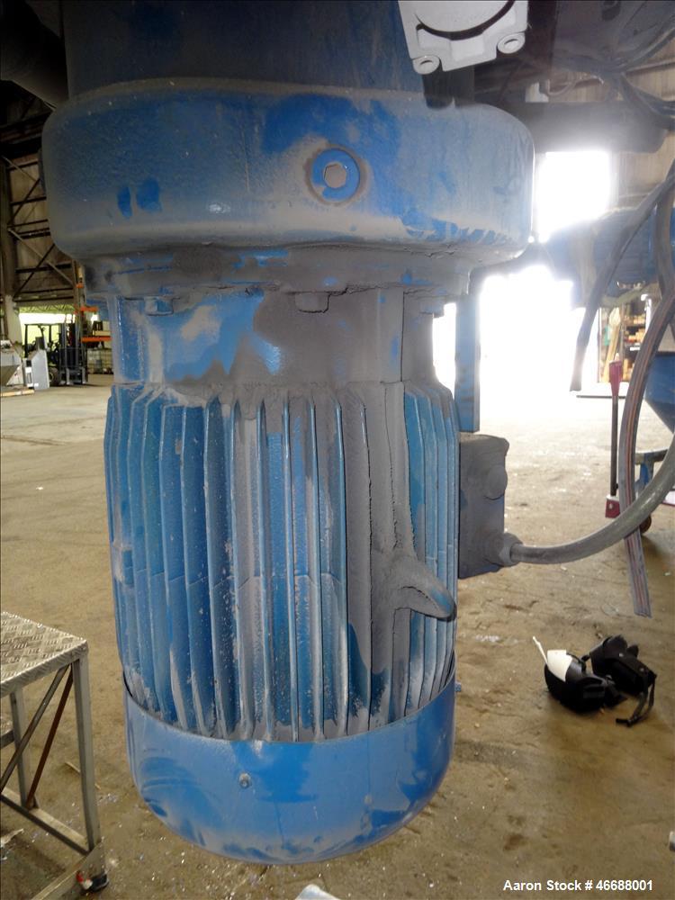 Used- Mixaco Maschinenbau High Intensity Container Mixer, Type CM 1000, 304 Stai