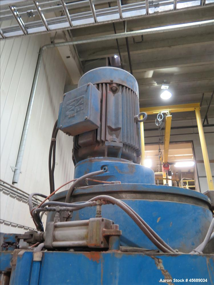 Used- Mixaco High Intensive Mixer, Type CM 600-WAD.