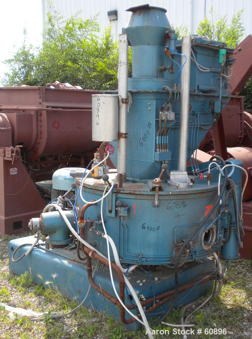 Used- Mixaco High Intensive Mixer, Type DS300S