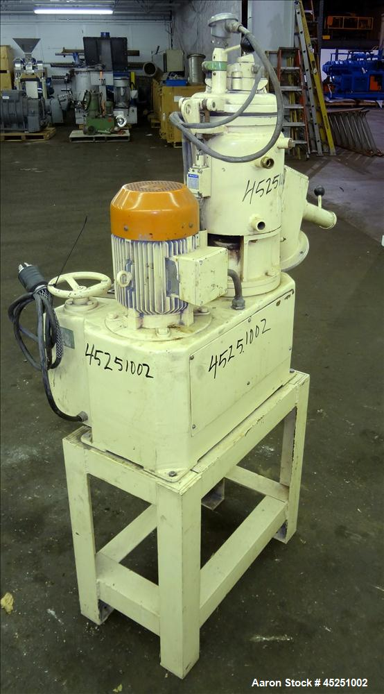 Used- Papenmeier / Wellington Lab Size High Intensity Mixer, 8 Liter (0.28 Cubic Feet), Type TGAHK-8, Stainless Steel. Carbo...