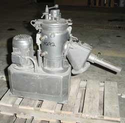 "USED:Papenmeier high intensity mixer, model TGAHK8, .28 cu ft,8 liter capacity. Stainless steel jacketed bowl 8-1/2"" diamete..."