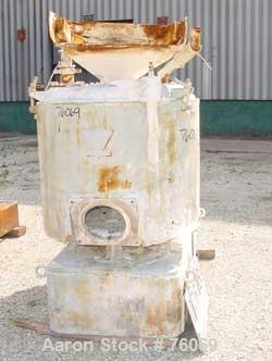 "Used- Prodex High Intensity Mixer, Type 115JSS, 11.5 Cubic Feet (500 liter), Stainless Steel. Jacketed bowl 36"" diameter x 3..."