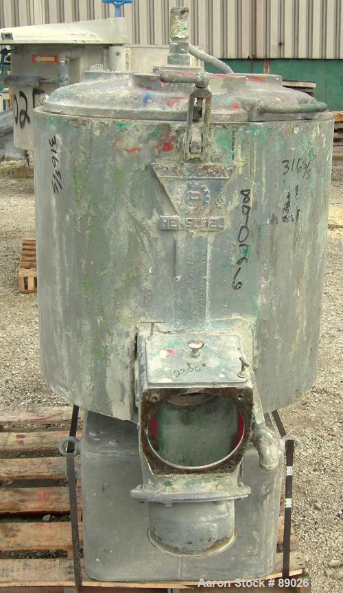 Used- Stainless Steel Prodex High Intensity Mixer, Model 50-JSS