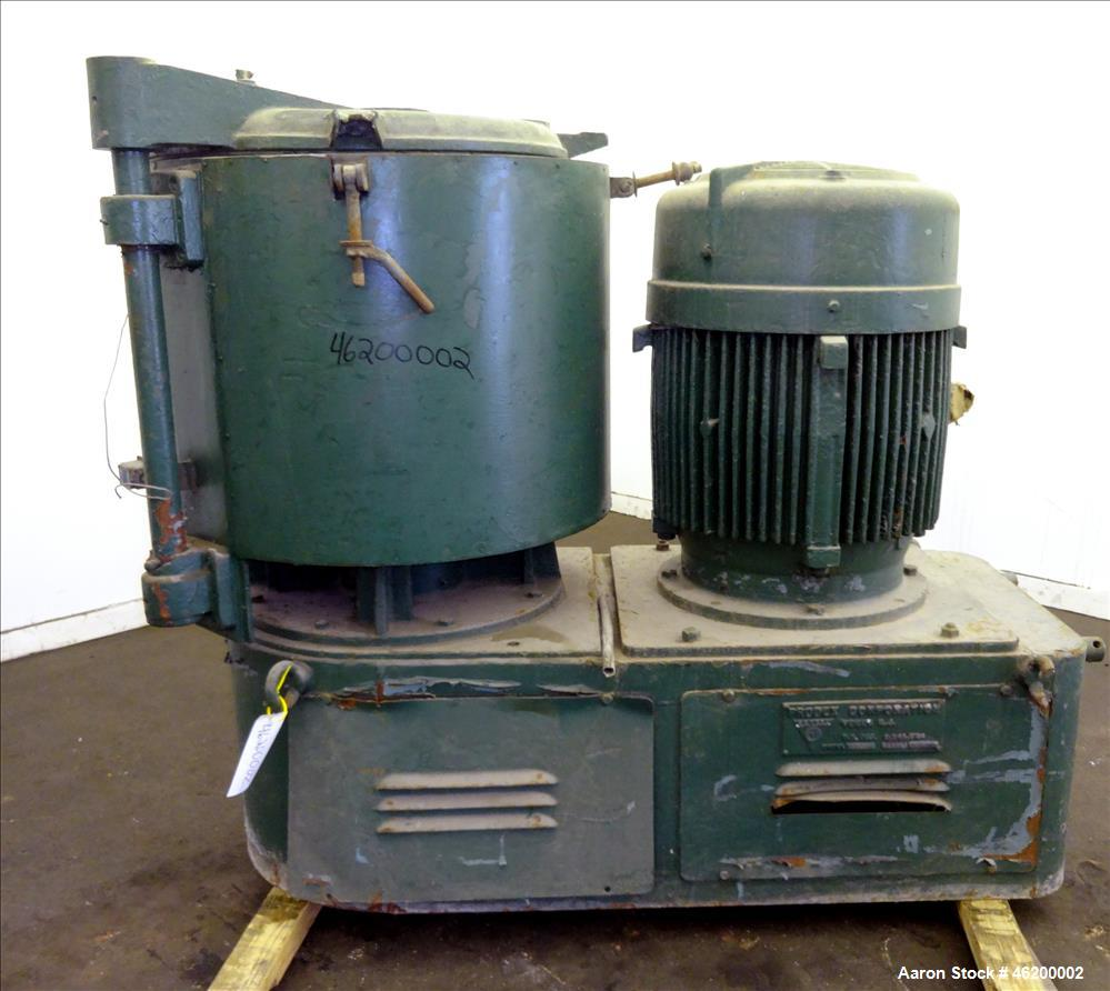 Used- Prodex High Intensity Mixer, Model 60JSS, 304 Stainless Steel. Approximate working capacity 170 liters 6 cubic feet (2...