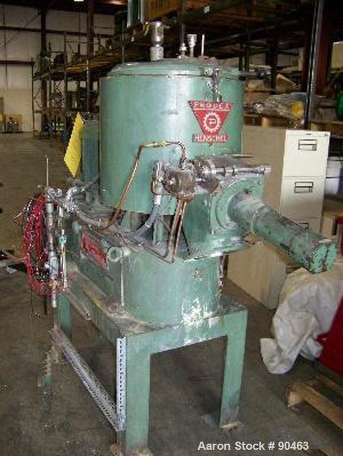 Used- Prodex High Intensity Mixer, Model JSSD-115